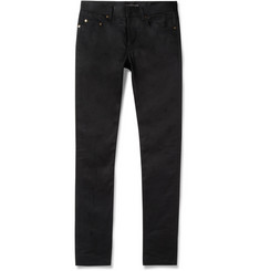 Saint Laurent Slim-Fit 15cm Hem Denim Jeans
