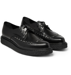 Saint Laurent Leather Lace-Up Shoes