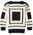 Alexander McQueen - Geometric Patterned Wool Sweater