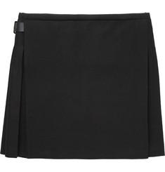 Alexander McQueen Pleated Wool Kilt