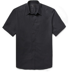 Alexander McQueen - Black Slim-Fit Short-Sleeved Cotton Shirt