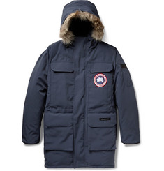 Canada Goose Citadel Coyote-Trimmed Down-Filled Parka