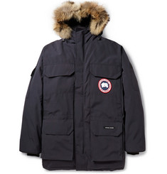 Canada Goose Expedition Coyote-Trimmed Down-Filled Parka