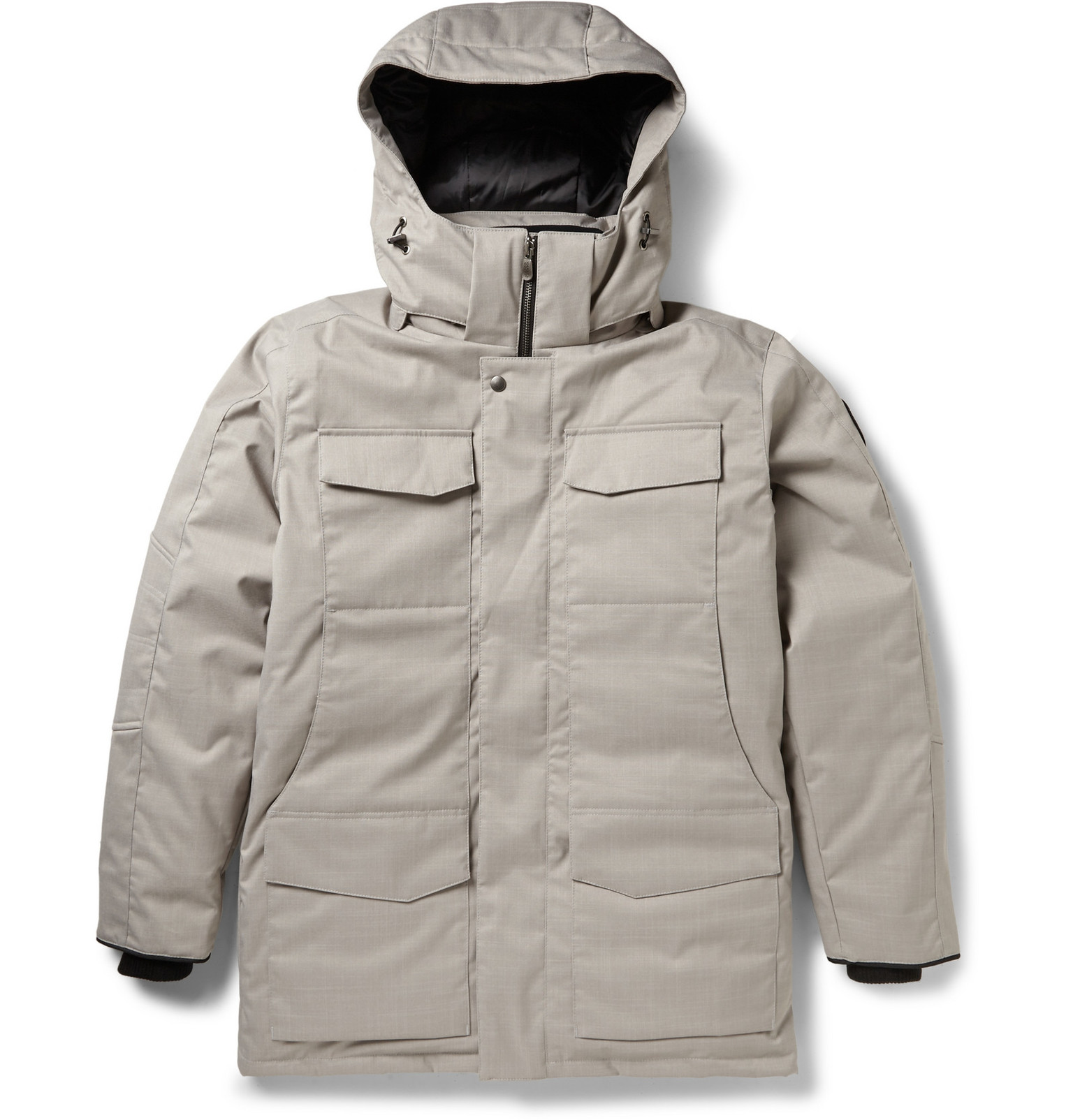 canada goose lodge hoody jacket with down fill
