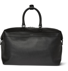 Saint Laurent Pebble-Grain Leather Holdall