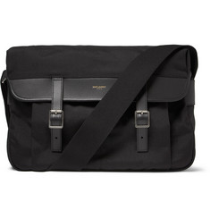 Saint Laurent Canvas Messenger Bag