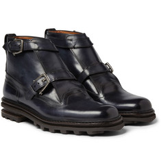 Berluti - Double-Strap Leather Boots