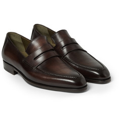 Berluti Andy Genova Leather Loafers