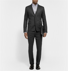 Tim Coppens Slim-Fit Wool and Silk-Blend Trousers