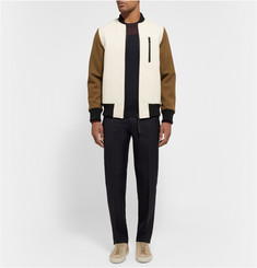 Tim Coppens Colour-Block Wool Sweater