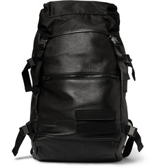Tim Coppens Leather and Nylon Backpack
