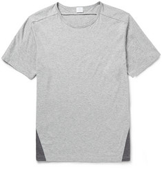Sunspel Panelled Cotton-Jersey T-Shirt