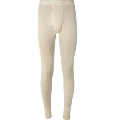Sunspel Wool and Silk-Blend Thermal Long Johns
