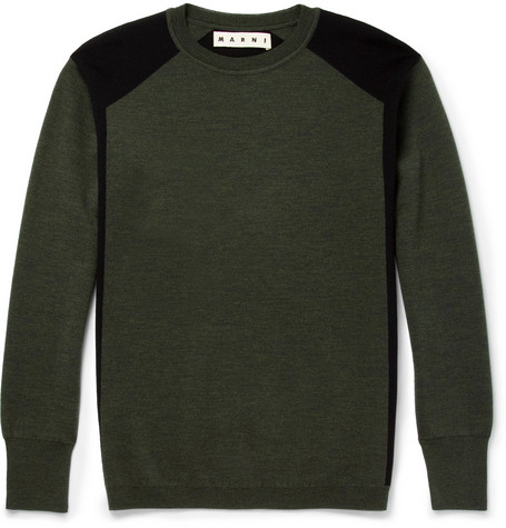 Marni Wool Crew Neck Sweater