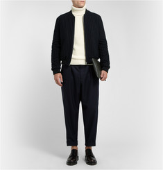 Marni Loose-Fit Wide-Leg Wool-Twill Trousers