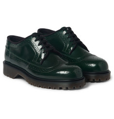Marni Polished-Leather Longwing Brogues