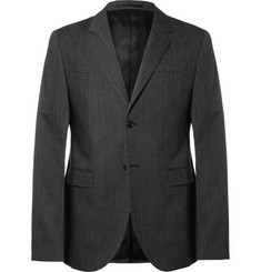 Marni Grey Slim-Fit Wool Suit Jacket