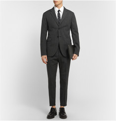 Marni Grey Slim-Fit Wool Suit Trousers