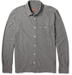 Missoni Zig-Zag Woven-Cotton Shirt