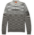 Missoni - Striped Wool-Blend Knitted Polo Shirt