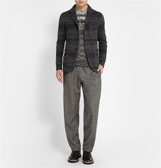 Missoni Knitted Wool-Blend Jacket