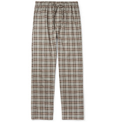Zimmerli Check Cotton-Flannel Pyjama Trousers