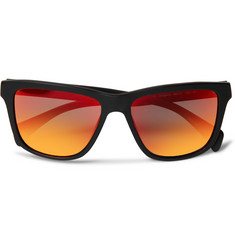Paul Smith 531 Square-Frame Acetate Mirrored Sunglasses