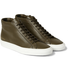 Common Projects Achilles Leather High Top Sneakers