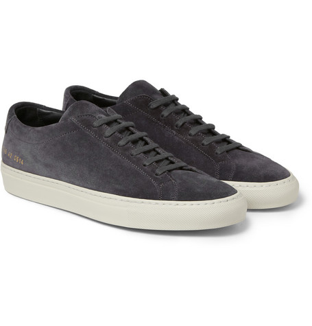 Common Projects Original Achilles Suede Low Top Sneakers