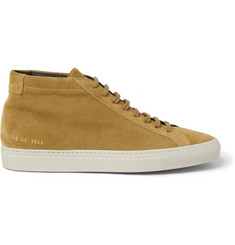 Common Projects Original Achilles Suede High Top Sneakers