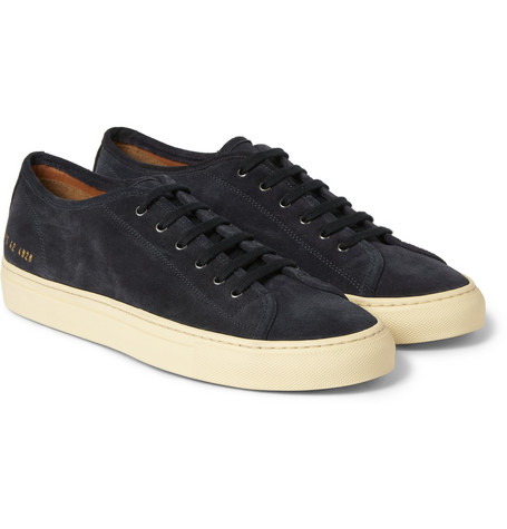 Common Projects Tournament Suede Low Top Sneakers