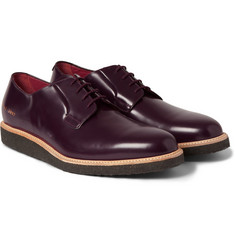 Common Projects Crepe-Sole Leather Derby Shoes