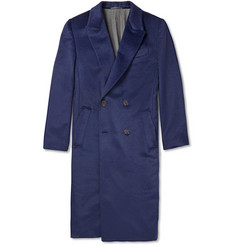 Berluti Baby Llama and Wool-Blend Overcoat