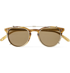 Garrett Leight California Optical Milwood Detachable-Front Matte-Acetate Sunglasses