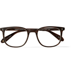 Garrett Leight California Optical Bentley D-Frame Matte-Acetate Glasses