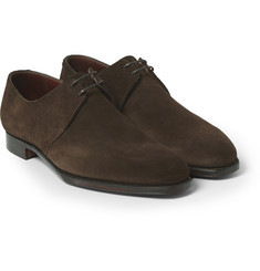 George Cleverley Stanley Suede Derby Shoes