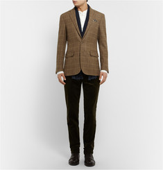 Polo Ralph Lauren Slim-Fit Check Wool and Alpaca-Blend Blazer