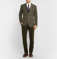 Polo Ralph Lauren Slim-Fit Check Wool Blazer