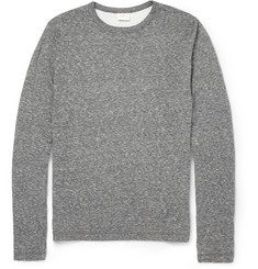 Hartford Cotton-Blend Jersey Long Sleeved T-Shirt