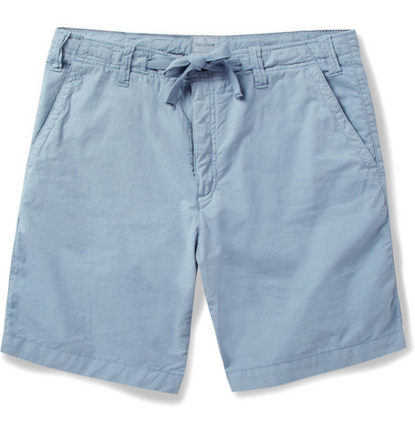 Hartford Washed Cotton-Twill Shorts
