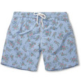 Hartford - Flower-Print Mid-Length Swim Shorts