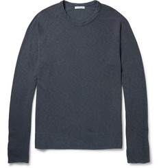 James Perse Loopback Cotton-Jersey Sweatshirt