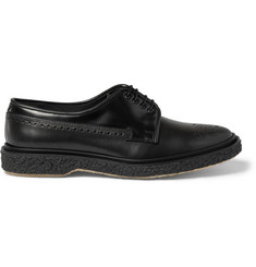 Adieu Type 27 Crepe-Sole Leather Brogues