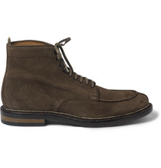 Officine Creative Harvard Lace-Up Suede Boots