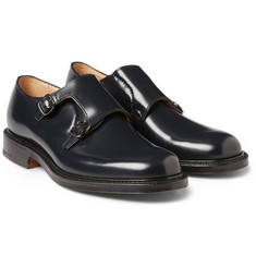 Church's Lambourn Polished-Leather Double Monk-Strap Shoes