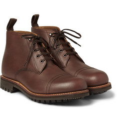 Grenson Ryan Four Eye Leather Boots