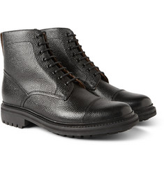 Grenson Joseph Country-Grain Leather Boots