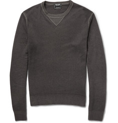 Todd Snyder Knitted-Cashmere Crew Neck Sweater