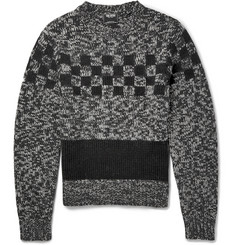 Todd Snyder Knitted Merino Wool and Alpaca-Blend Sweater