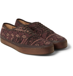 Paul Smith Shoes & Accessories Jim Rug Tapestry Sneakers
